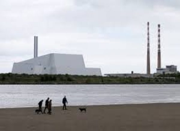 20180209 Poolbeg Incinerator from Sandymount Strand