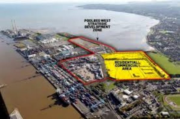 Poolbeg West Planning Map