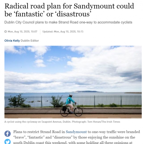 Radical Plans for rerouitng traffic